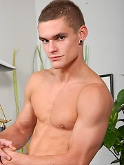 Raw european boy adult casting session