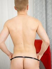 Twink anal toy play with Kenton