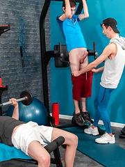 Orgy at Gym
