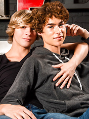 these two Helix baby boys suck on each others sweet parts & Jesse gives greco the goods